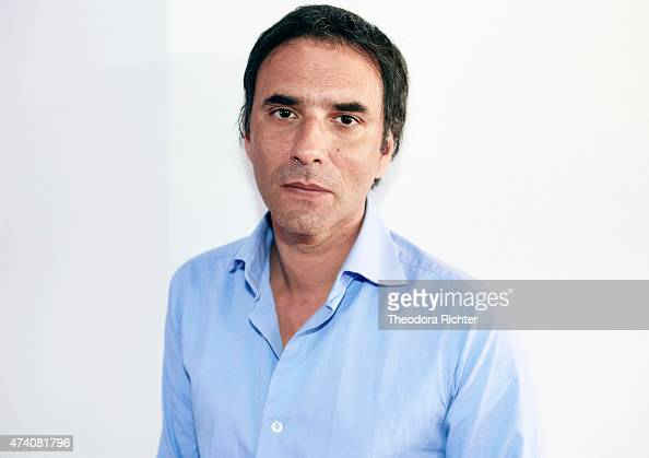 Writer actor scenarist and film director Samuel Benchetrit is photographed on May 17 2015 in Cannes France