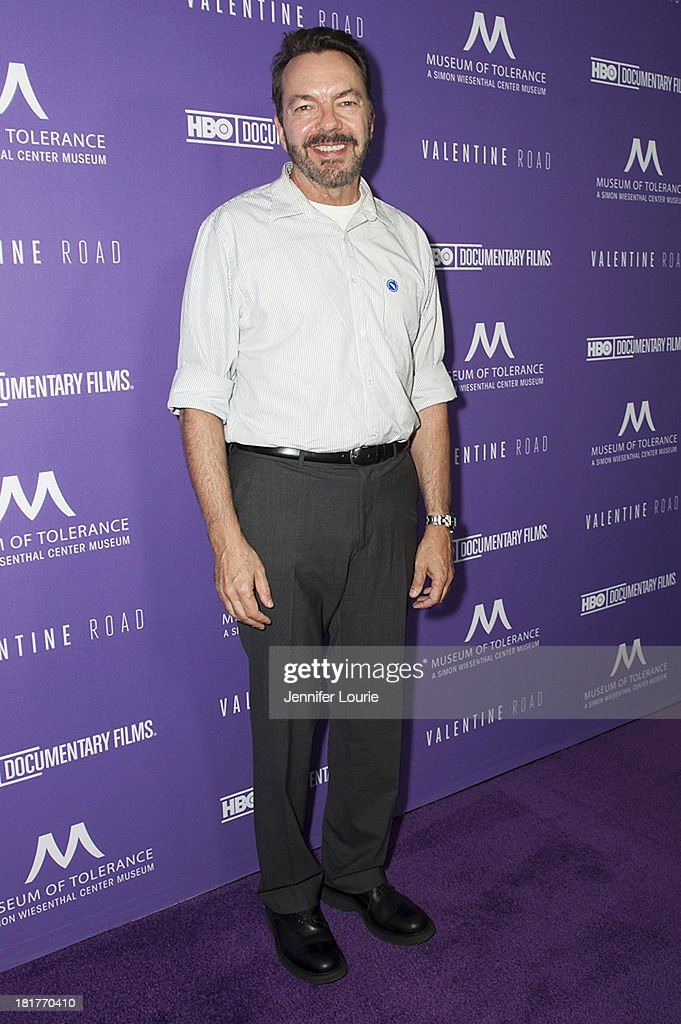 Writer Alan Ball attends the Los Angeles premiere screening of 'Valentine Road' at The Museum of Tolerance on September 24, 2013 in Los Angeles, California.