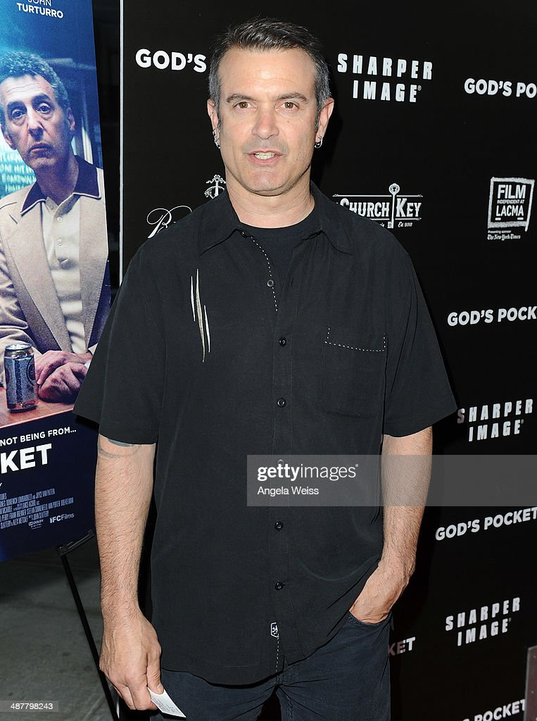 Writer Alex Metcalf arrives at the premiere of IFC Films 'God's Pocket' at LACMA on May 1, 2014 in Los Angeles, California.