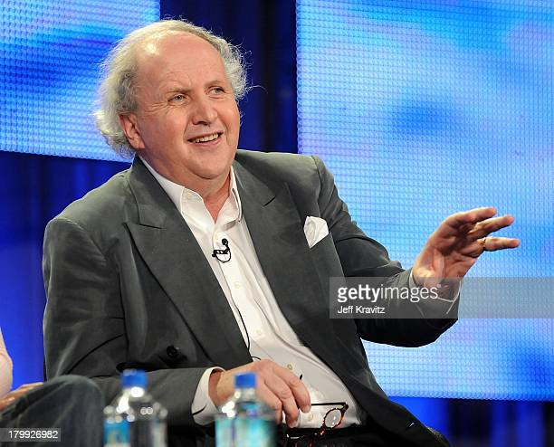 Writer Alexander McCall Smith speaks during HBO's 2009 Winter Television Critics Association Press Tour held at the Universal Hilton Hotel on January...