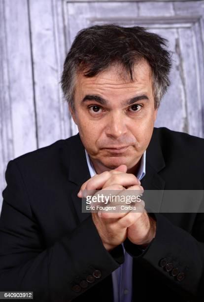 Writer Alexandre Jardin poses during a portrait session on October 20 2016 in Paris France