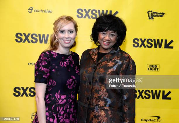 Writer Allison Schroeder and Cheryl Boone Isaacs President of the Academy of Motion Picture Arts and Sciences attend 'A Conversation with Cheryl...