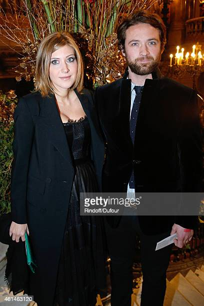 Writer Amanda Sthers and LouisMarie de Castelbajac who will play for Amanda in her next movie attend Weizmann Institute celebrates its 40 Anniversary...