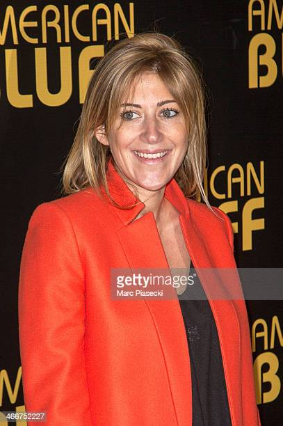 Writer Amanda Sthers attends the 'American Bluff' Paris Premiere at Cinema UGC Normandie on February 3 2014 in Paris France