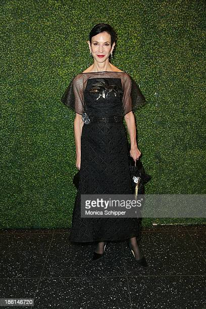 Writer Amy Fine Collins attends the 'To Catch A Thief' Ralph Lauren screening at The Museum of Modern Art on October 28 2013 in New York City