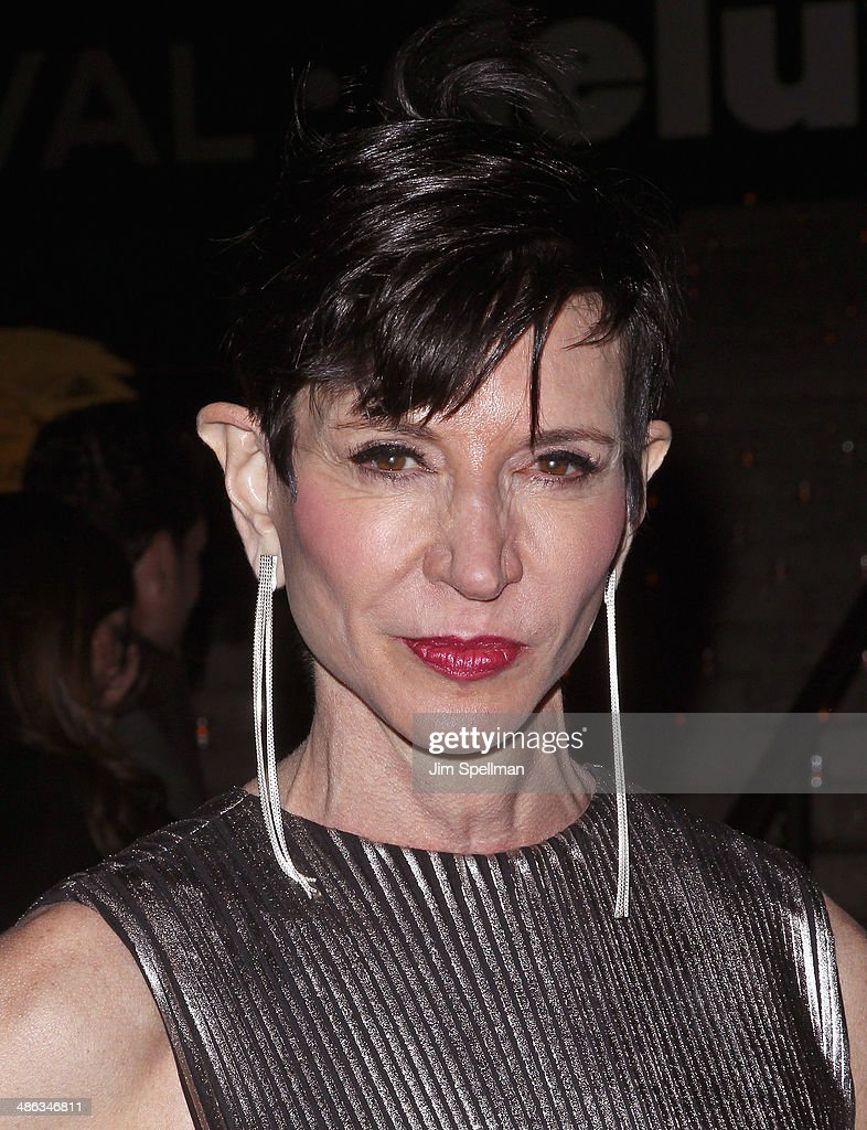 Writer Amy Fine Collins attends the Vanity Fair Party during the 2014 Tribeca Film Festival at The State Supreme Courthouse on April 23, 2014 in New York City.