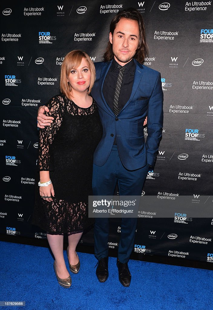 Writer Amy Jacobowitz and director Lee Toland Kreiger arrive to the after party for the premiere of 'Four Stories' at The W Hotel on December 4, 2012 in Westwood, California.