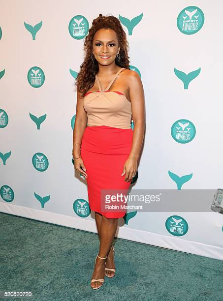 Writer and activist Janet Mock attends 8th Annual Shorty Awards Red Carpet And Awards Ceremony at The New York Times Center on April 11 2016 in New...