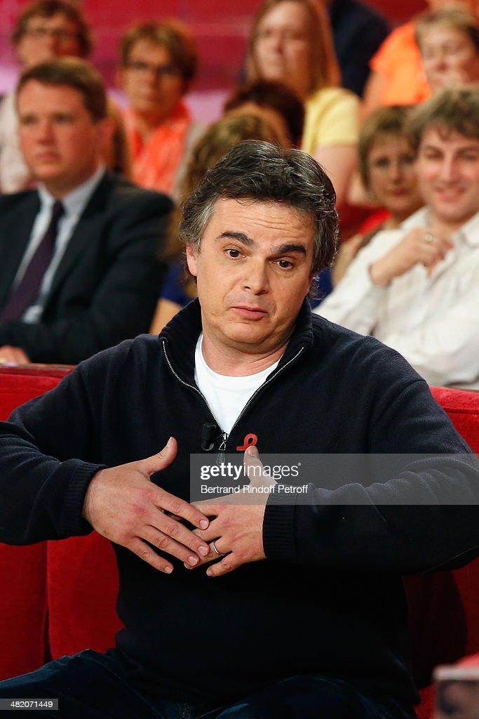 39 vivement dimanche 39 french tv show at pavillon gabriel in for Alexandre jardin zebre
