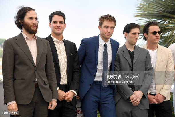 Writer and Codirector Joshua Safdie Codirector Ben Safdie actor Robert Pattinson actor Buddy Duress and producer Oscar Boyson attend the 'Good Time'...