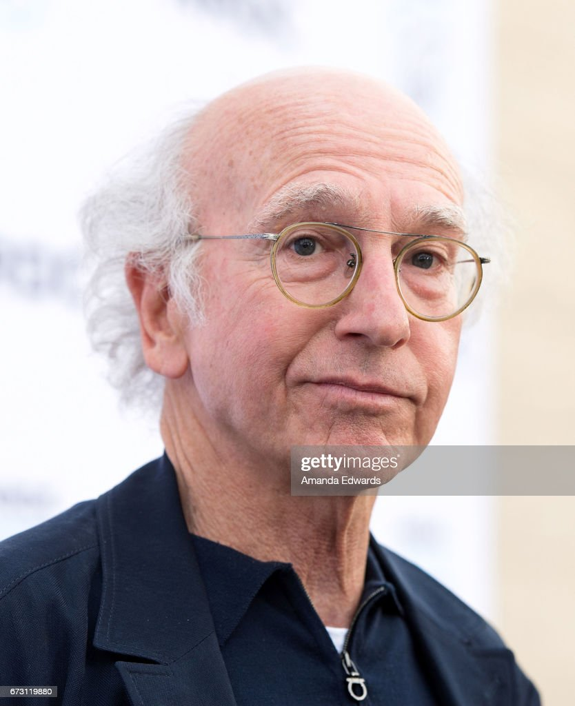 Writer and comedian Larry David arrives at the Natural Resources Defense Council's STAND UP! event at the Wallis Annenberg Center for the Performing Arts on April 25, 2017 in Beverly Hills, California.
