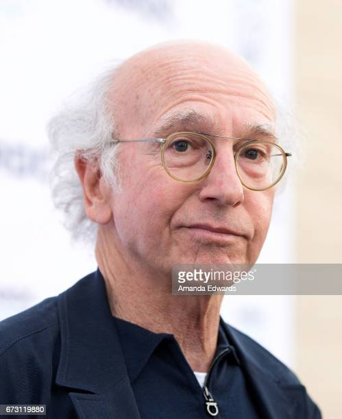 Writer and comedian Larry David arrives at the Natural Resources Defense Council's STAND UP event at the Wallis Annenberg Center for the Performing...