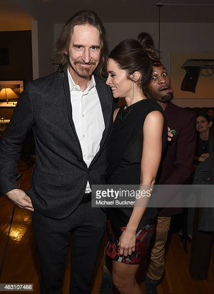 Writer and creator Ray McKinnon and actress Abigail Spencer attend the Dinner and Conversation with the creators of Sundance Channel's 'Rectify'...