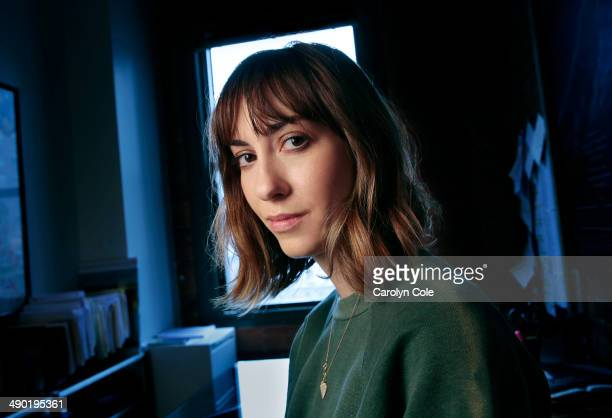 Writer and director Gia Coppola is photographed for Los Angeles Times on April 30 2014 in New York City PUBLISHED IMAGE CREDIT MUST BE Carolyn...