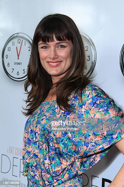 Writer and Director Kat Coiro at The 2012 Los Angeles Film Festival Official Kick Off Premiere Of 'Departure Date' sponsored by Virgin Airlines held...