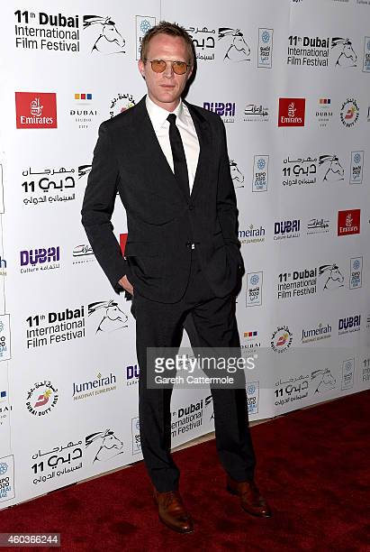 Writer and director Paul Bettany attends the 'Shelter' screening during day three of the 11th Annual Dubai International Film Festival held at the...
