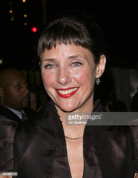 Writer and director Rebecca Miller attends The Cinema Society A Diamond Is Forever screening of 'The Private Lives Of Pippa Lee' at AMC Loews 19th...