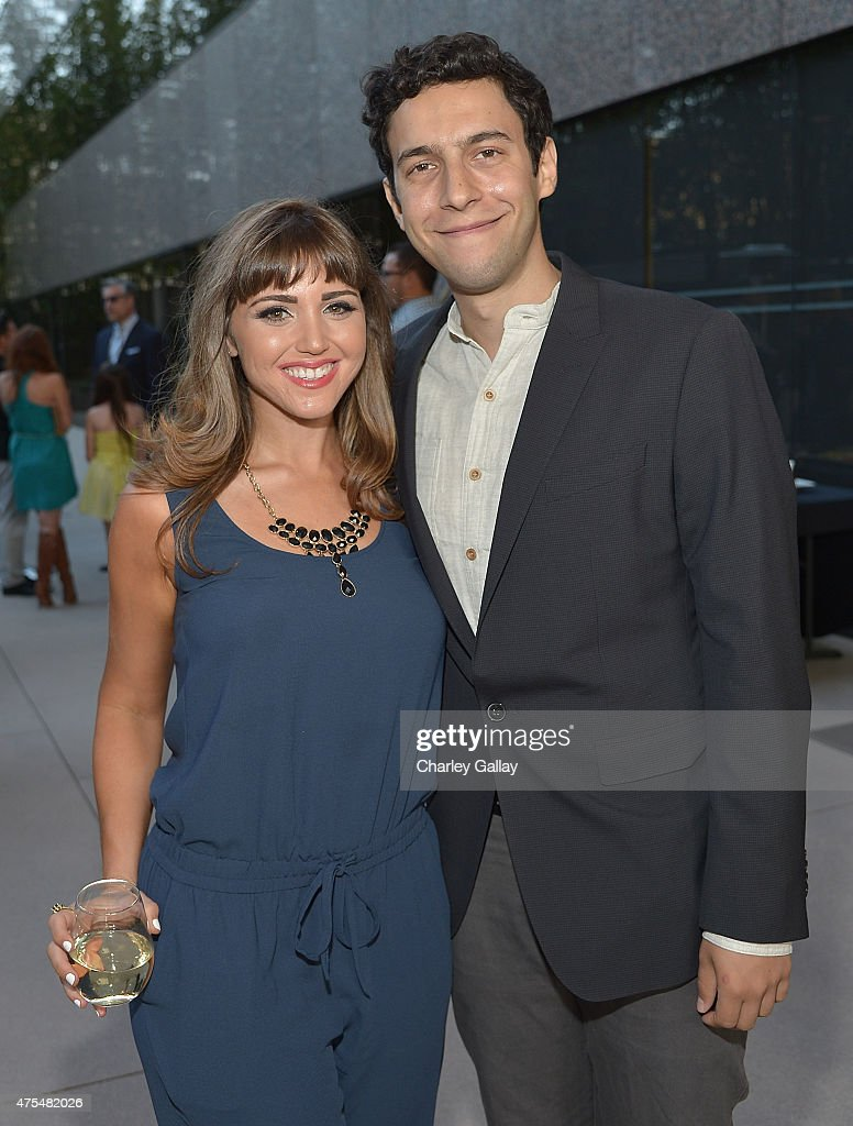 Writer and executive producer Joelle Garfinkel and producer Nick Smoke attend the screening party for the new original web series, 'CAM GIRLS' at United Talent Agency on May 31, 2015 in Beverly Hills, California.