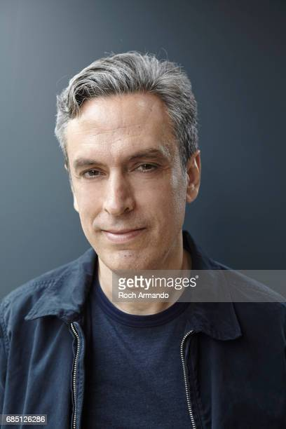 Writer and film director Fabio Grassadonia is photographed on May 18 2017 in Cannes France