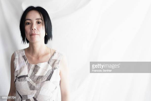 Writer and film director Naomi Kawase is photographed on May 24 for Gala Magazine 2017 in Cannes France