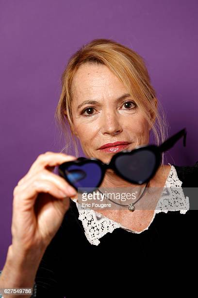Writer and Journalist Laure Adler Photographed in PARIS
