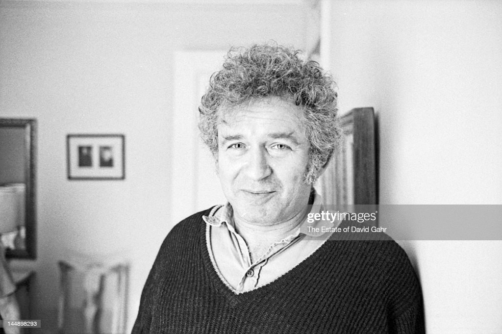 Writer and journalist <a gi-track='captionPersonalityLinkClicked' href=/galleries/search?phrase=Norman+Mailer&family=editorial&specificpeople=206831 ng-click='$event.stopPropagation()'>Norman Mailer</a> poses for a portrait at home on March 15, 1971 in Brooklyn, New York City, New York.