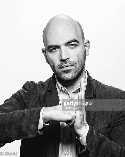 Writer and journalist Roberto Saviano is photographed for SonntagsZeitung on June 28 2014 in Munich Germany