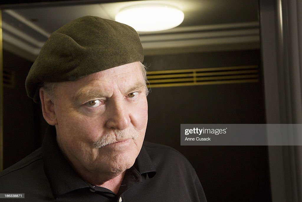 Writer and narrator Stacy Keach is photographed for Los Angeles Times on October 17, 2013 in Los Angeles, California. PUBLISHED IMAGE.