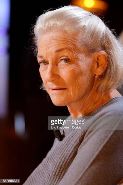 Writer and philosopher Elisabeth Badinter poses during a portrait session in Paris France on