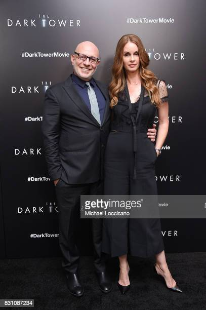 Writer and producer Akiva Goldsman attends 'The Dark Tower' New York Premiere on July 31 2017 in New York City