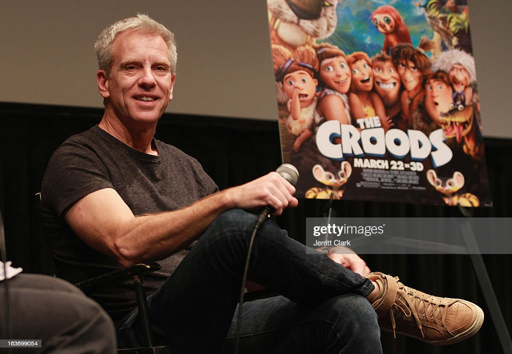 Writer and Producer Chris Sanders attends 'The Croods' screening at The Film Society of Lincoln Center, Walter Reade Theatre on March 13, 2013 in New York City.