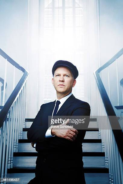 Writer and producer Ryan Murphy is photographed for The Hollywood Reporter on September 29 2013 in New Orleans Louisiana