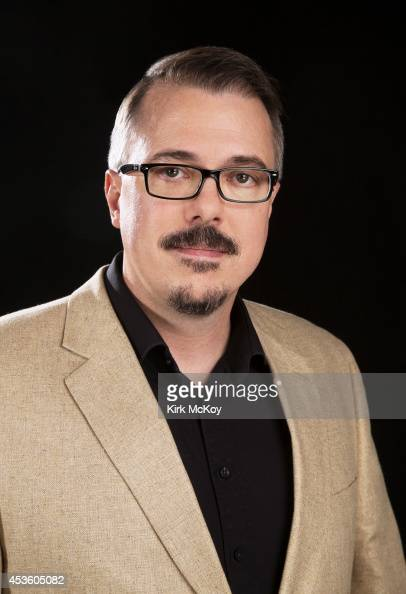 Writer and producer Vince Gilligan is photographed for Los Angeles Times on July 21 2014 in West Hollywood California PUBLISHED IMAGE CREDIT MUST BE...