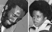 Writer and social activist Dick Gregory and Patricia Sanders November 25 1975