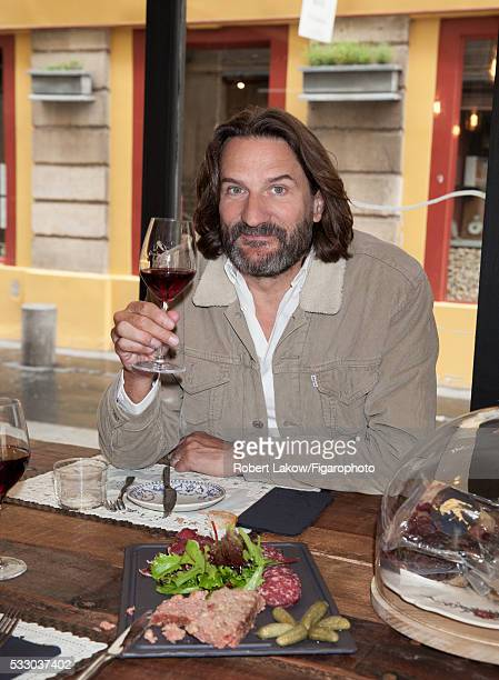Writer and TV presenter Frederic Beigbeder is photographed for Madame Figaro on April 29 2016 in Paris France CREDIT MUST READ Robert...