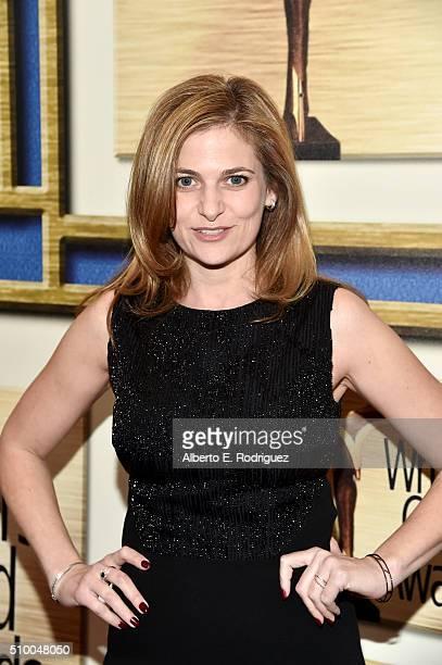 Writer Andrea Berloff attends the 2016 Writers Guild Awards at the Hyatt Regency Century Plaza on February 13 2016 in Los Angeles California