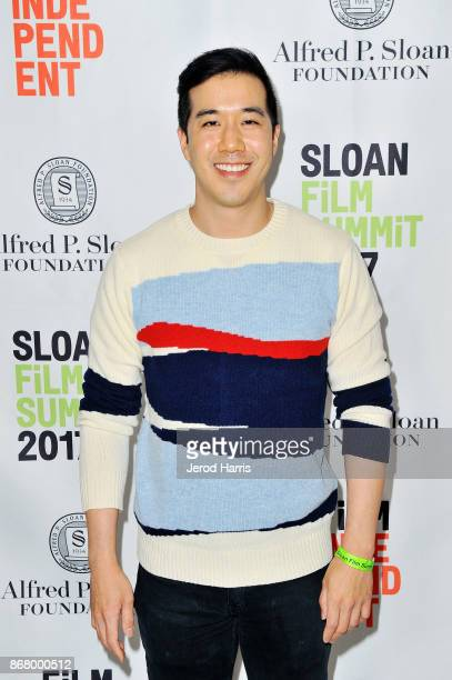 Writer Andrew Law attends Sloan Film Summit 2017 Day 3 on October 29 2017 in Los Angeles California