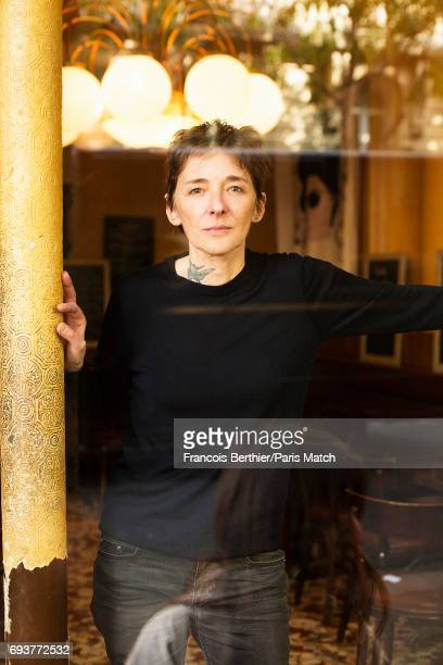 Writer Ann Scott is photographed for Paris Match on May 5 2017 in Paris France