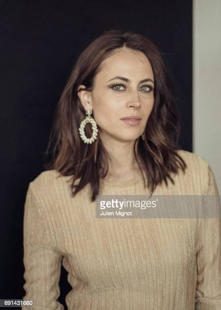 Writer Anne Berest is photographed for Grazia magazine on May 21 2017 in Cannes France