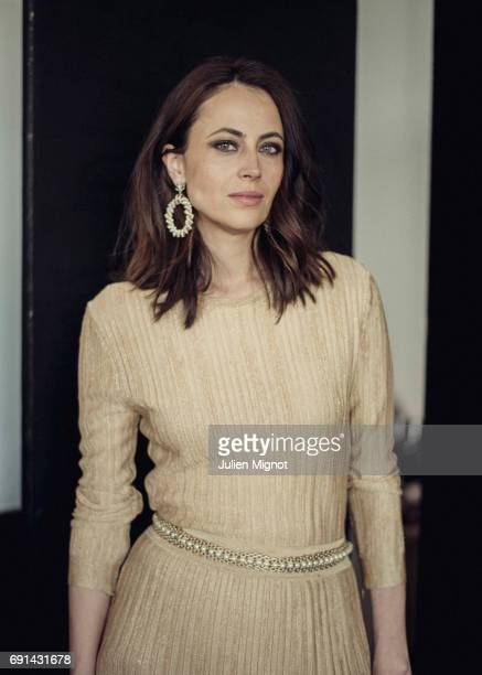 Writer Anne Berest is photographed for Grazia magazine on May 21 2017 in Cannes France Published Image