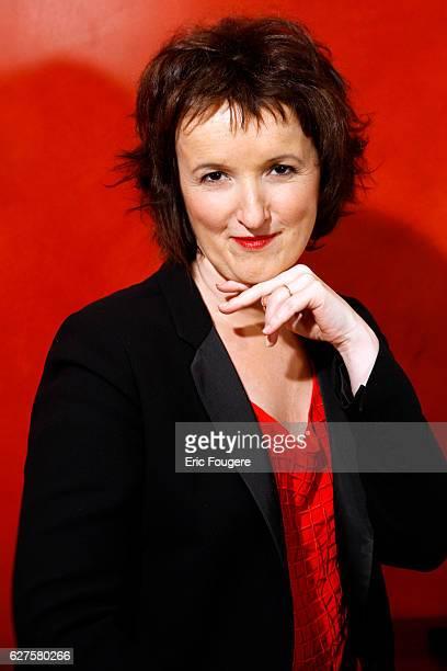 Writer Anne Roumanoff Photographed in PARIS