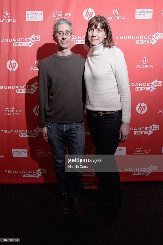 Writer Anthony Arnove and producer Brenda Coughlin attend the 'Dirty Wars' Premiere during the 2013 Sundance Film Festival at Eccles Center Theatre on January 18, 2013 in Park City, Utah.