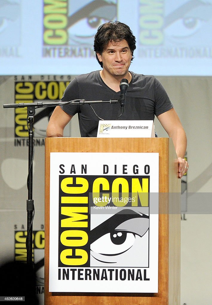 Writer Anthony Breznican attends the 'The Giver' presentation during ComicCon International 2014 at the San Diego Convention Center on July 24 2014...