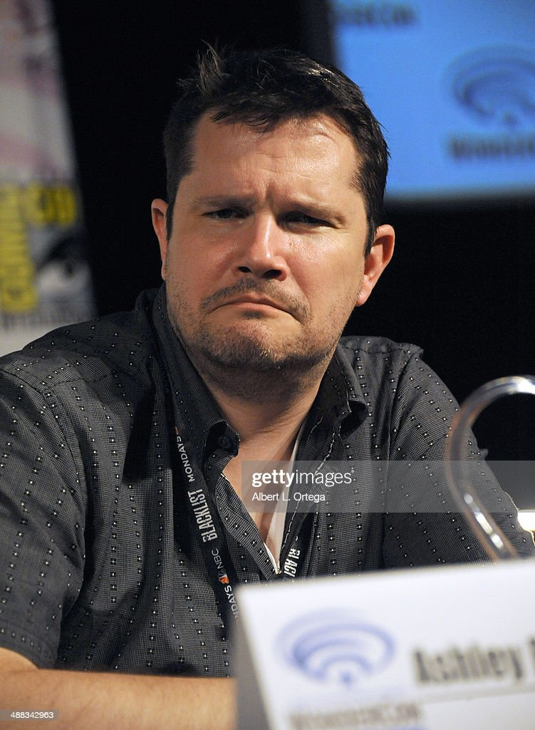 Writer Ashley Edward Miller attends WonderCon Anaheim 2014 - Day 3 held at Anaheim Convention Center on April 20, 2014 in Anaheim, California.