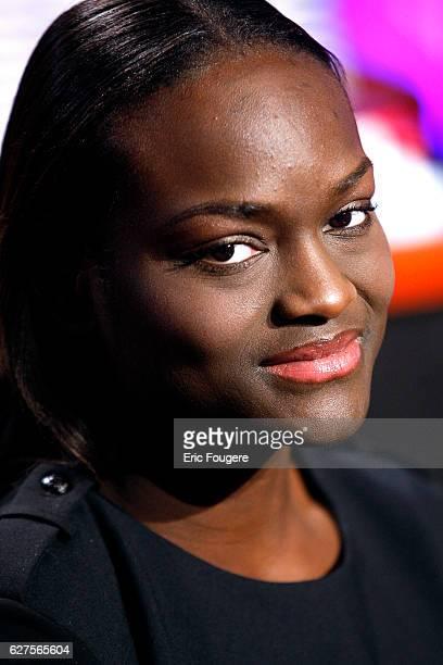 Writer Aya Cissoko at 'au FIELD de la nuit sur TF1 ' in Paris