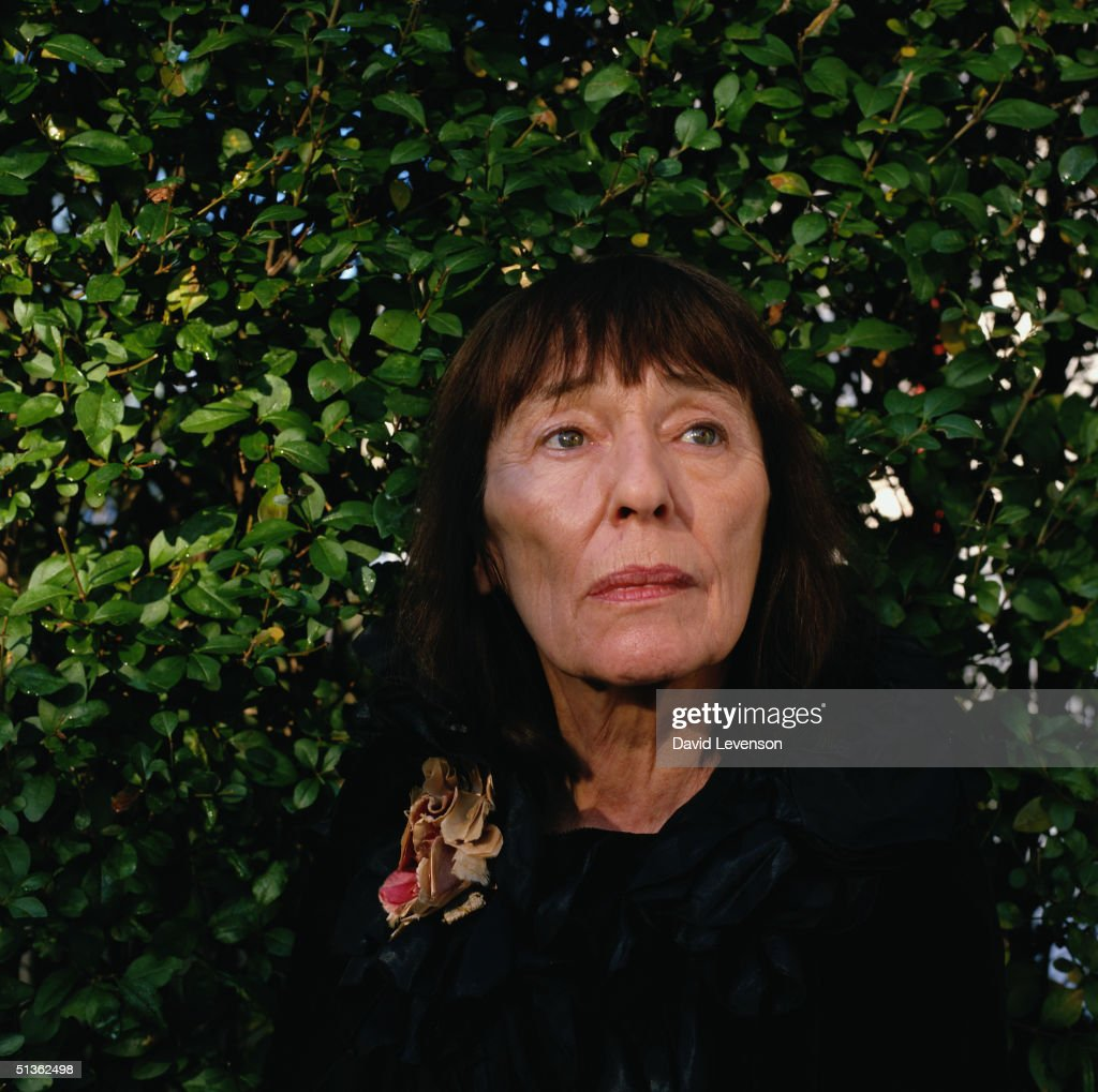 Writer Beryl Bainbridge at home in Camden Town, London on Decmber 14, 1998. Bainbridge's novels include - 'An Awfully Big Adventure' (1970), 'The Bottle Factory Outing' (1974), 'The Secret Glass' (1974), 'Young Adolf' (1978), 'Every Man For Himself' (1996), 'Master Georgie' (1998), and 'According To Queeney' (2000).