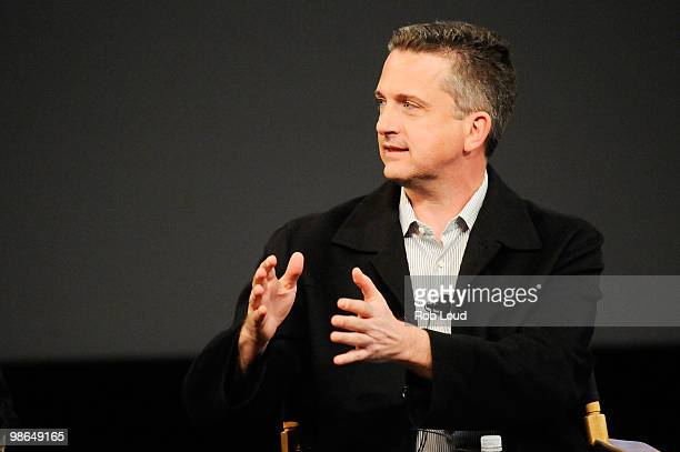 Writer Bill Simmons speaks at the panel and screening of 'Beyond Playing The Field' during the 2010 Tribeca Film Festival at the School of Visual...