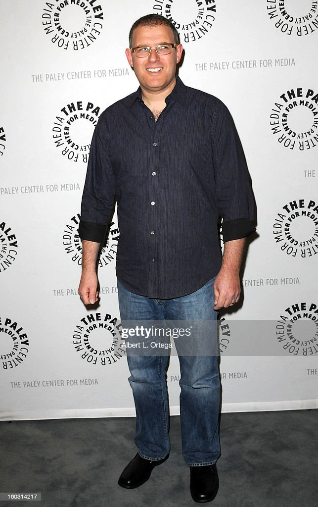 Writer Bob Goodman arrives for The Paley Center for Media & Warner Bros. Home Entertainment Premiere of 'Batman: The Dark Knight Returns, Part 2' held at The Paley Center for Media on January 28, 2013 in Beverly Hills, California.
