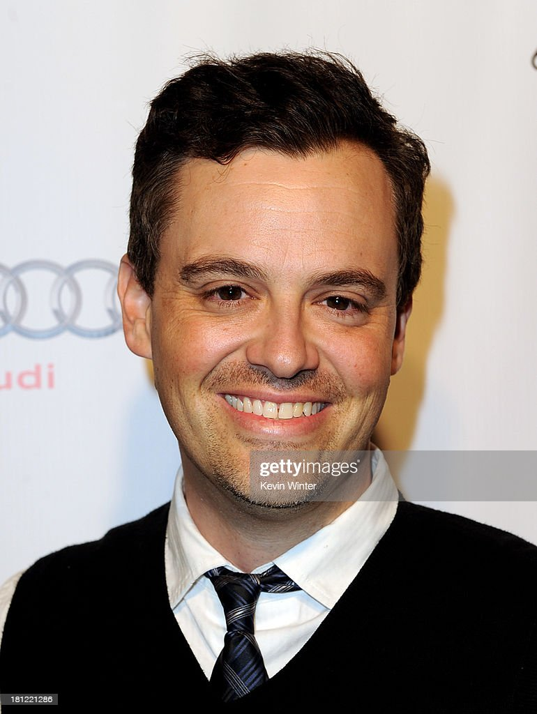 Writer Bobby Mort of The Colbert Ropert arrives at the 65th Primetime Emmy Awards Writer Nominees reception at the Academy of Television Arts & Sciences on September 19, 2013 in No. Hollywood, California.