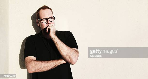 Writer Bret Easton Ellis is photographed on February 22 2013 in Los Angeles California